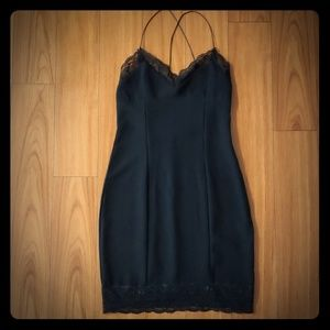 Sexy Zara black mini dress